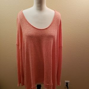 Torrid long sleeved knit top size 2